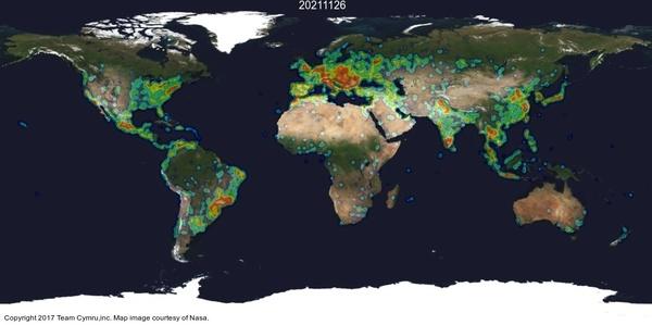 Arbor World Map